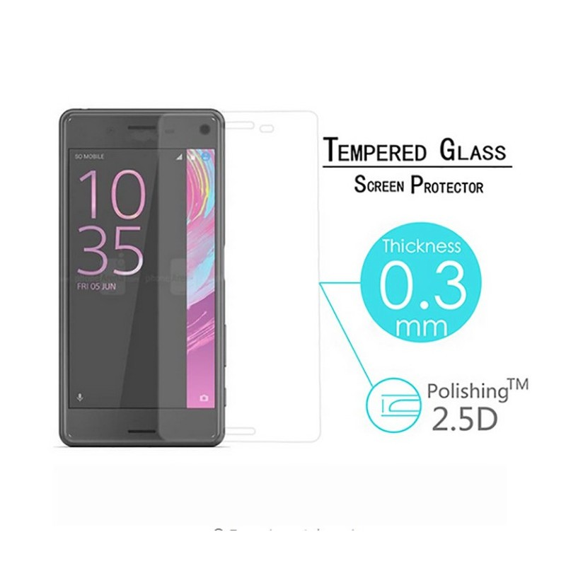 920a380d8d4 3D Full Screen Coverage Tempered Glass Sreen Protector for Sony XZ White