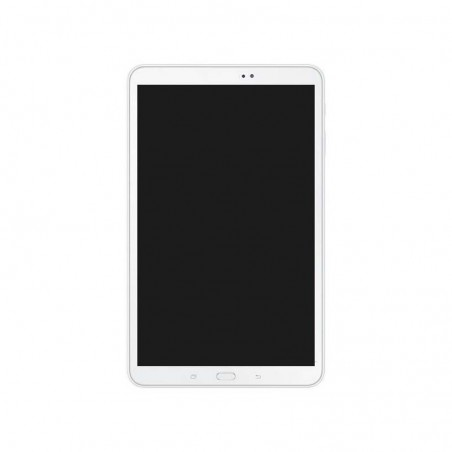 Screen Replacement with Frame for Samsung Galaxy Tab 10 1 T580 White  Original