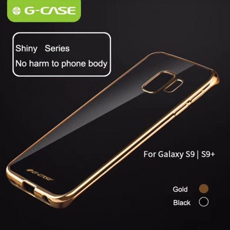 G-Case Plating TPU Case for Samsung Galaxy S9 Plus Gold