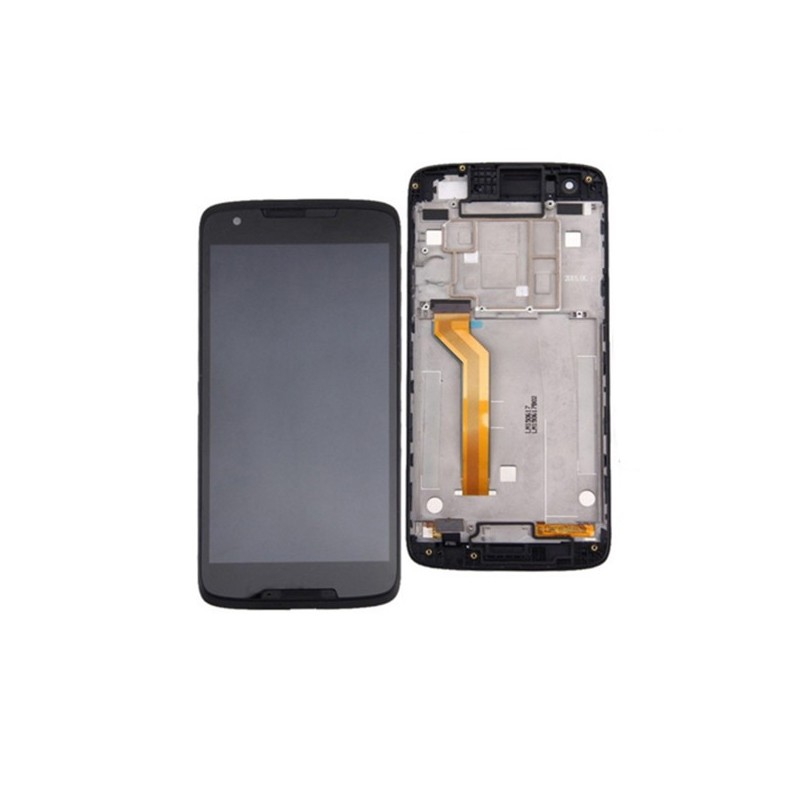 Screen Replacement With Frame for HTC Desire 828 Black OEM