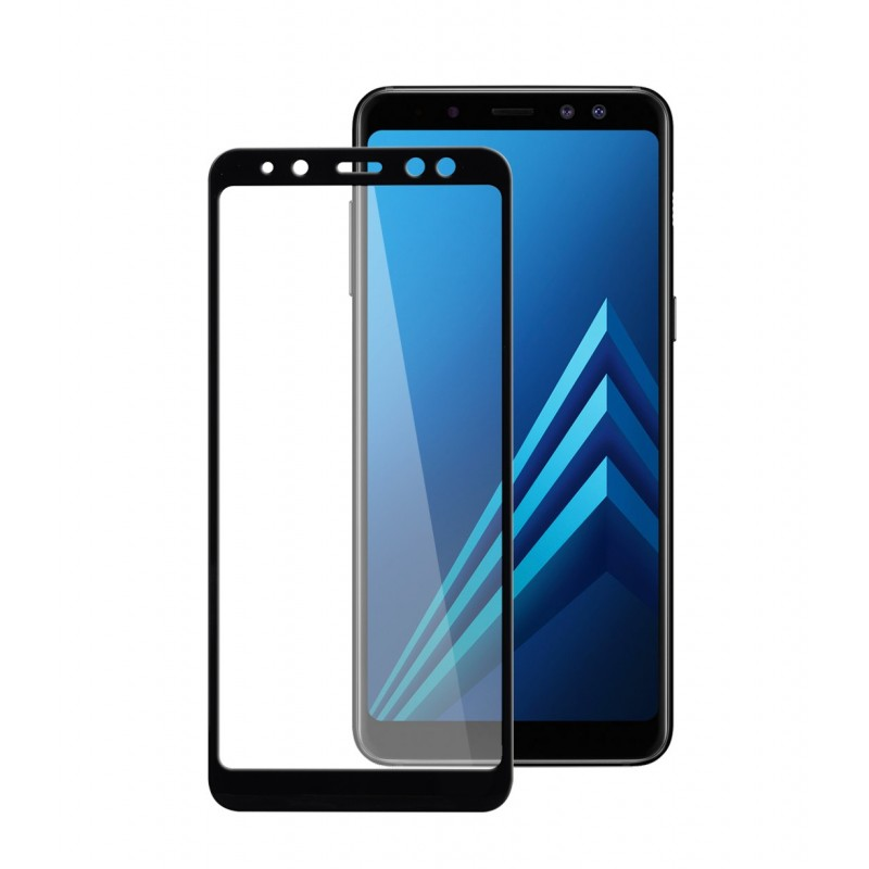 5D Full Screen Tempered Glass Back Screen Protector for Samsung Galaxy A8 (2018)/A5 (2018) Transparent