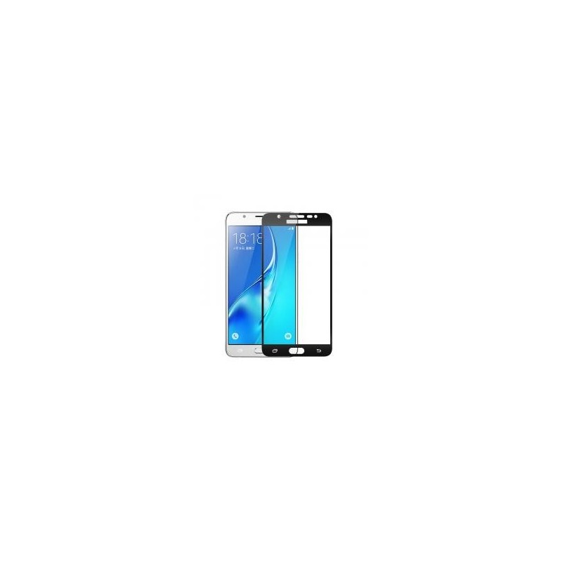 Full Screen Tempered Glass Screen Protector for Samsung Galaxy J7 Prime G6100 Black