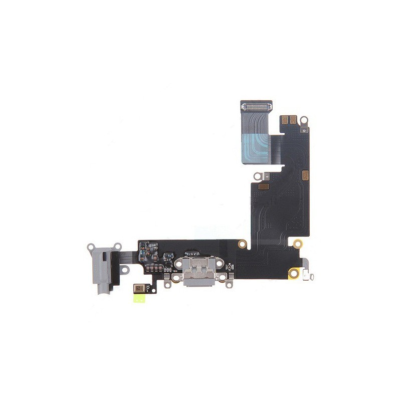 Charging Port and Headphone Jack Flex Cable for iPhone 6 Plus Dark Gray Ori