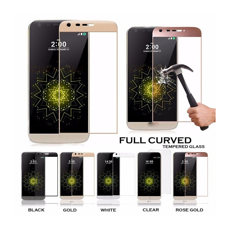 93ca4947ff1 3D Full Screen Coverage Tempered Glass Sreen Protector for LG K10 Gold