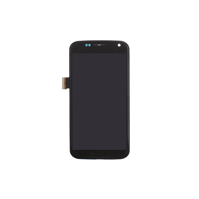 LCD Display and Digitizer Touch Screen with Middle Frame for Motorola Moto X XT1052 XT1058 XT1060 Black Ori without any Logo
