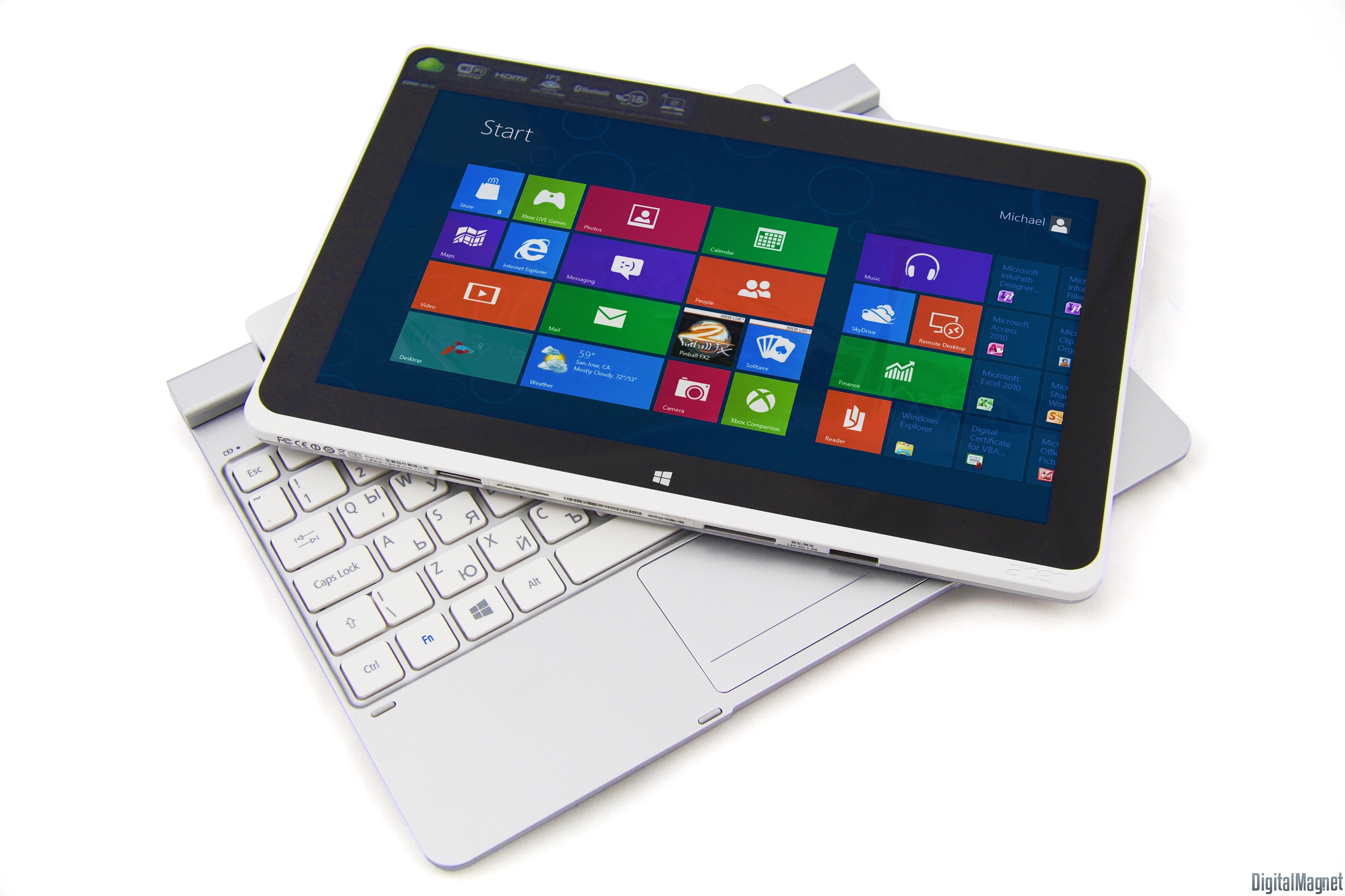 Acer Iconia Tab W510 Parts
