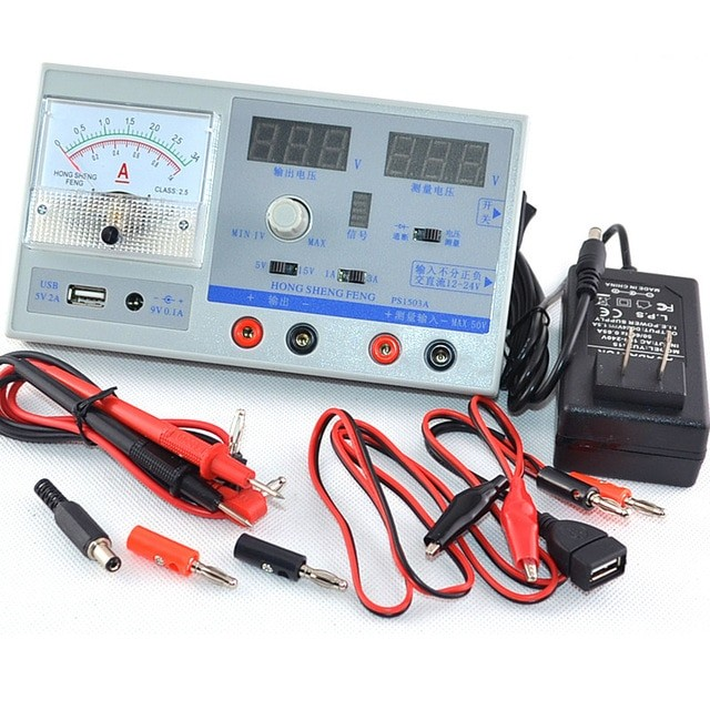 Digital Multimeter & Power Supply